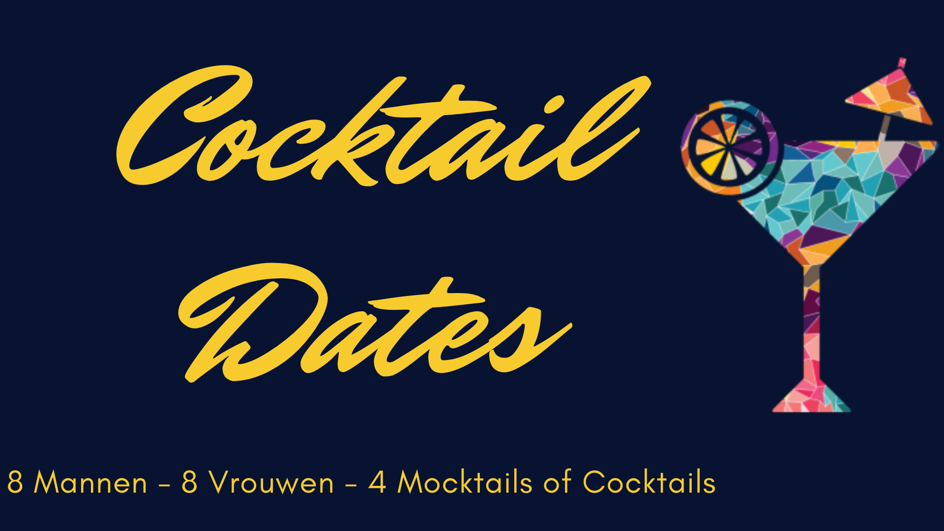 Cocktail dates banner